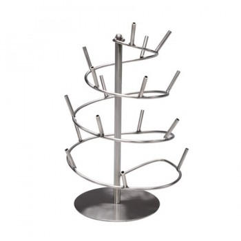 MiniBytes Stainless Steel Tasting Tree Spiral w/16 Holders
