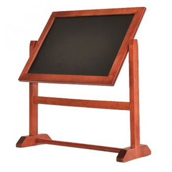 Securit? Twister Table Chalk Board - 360 Degree Rotating A5 Double Sided