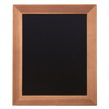 Woody Chalk Board - Teak - Including Chalk Marker