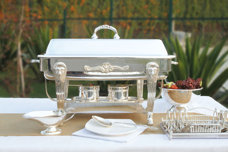 Monarch Silver Plated Chafing Dish