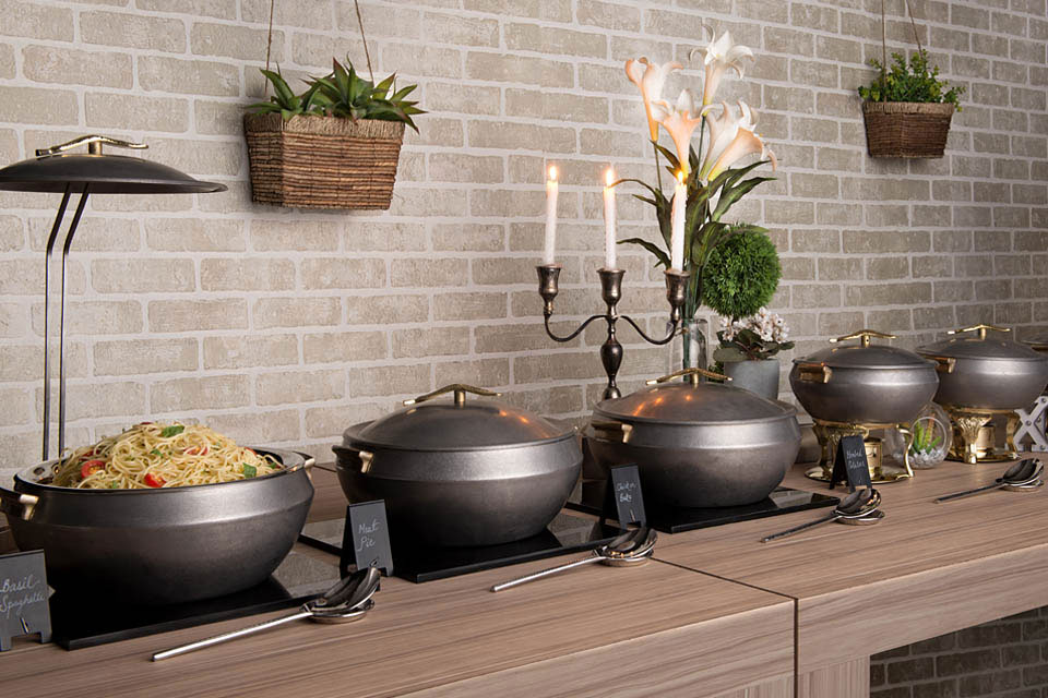 Zahara Vintage Buffet Concept