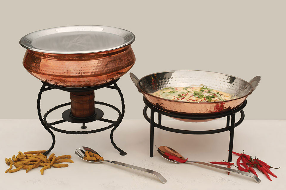 Copper Handi & Kadai