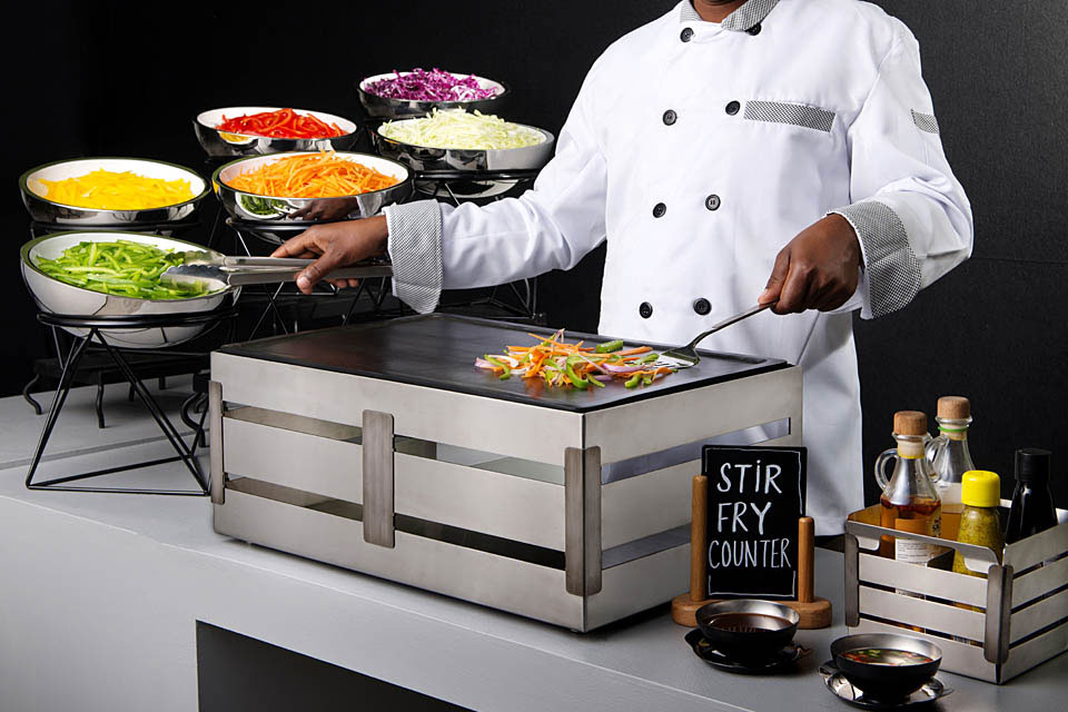 Stir Fry Counter