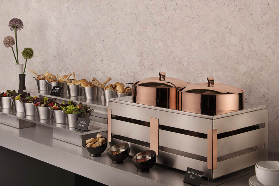 Copper Soup Station