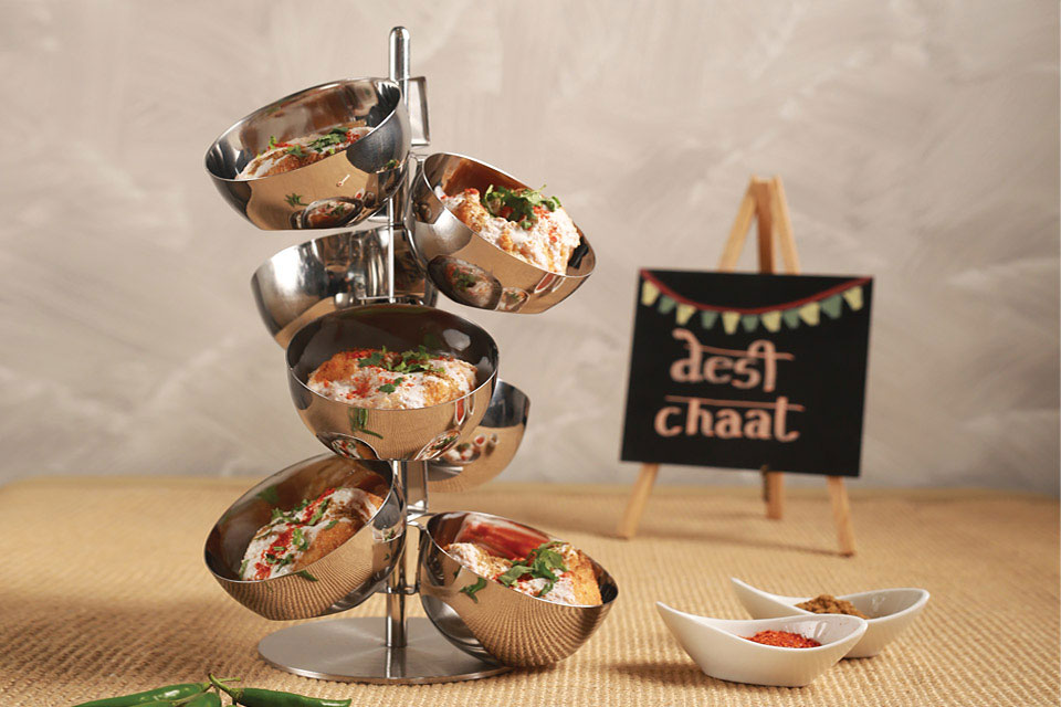Mini Food Bubble Stand