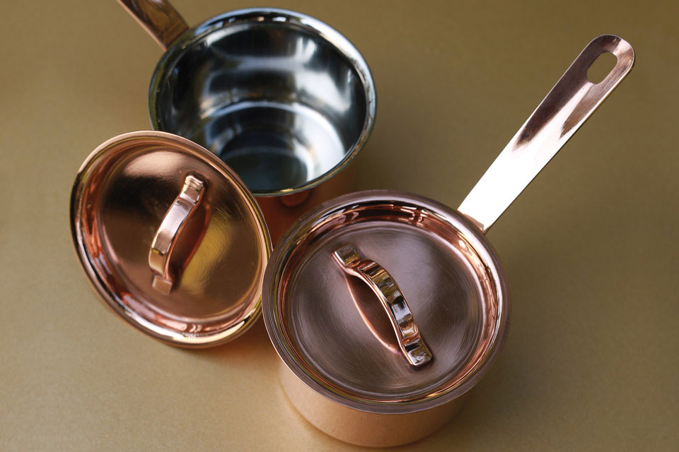 Mini Copper Sauce Pan